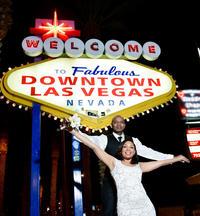 Las Vegas Limousine Wedding Ceremony