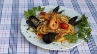 Dinner in Napoli - Seafood Menu