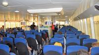 Koh Phangan to Surat Thani Airport by Lomprayah High Speed Catamaran and Shared Minivan