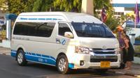 White van from Krabi Airport to Lanta*