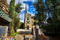 Viator Exclusive: Gaudi Experiencia Private Tour of Barcelona's Colonia Guell and Torres Bellesguard