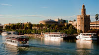 Seville Sightseeing Tour with River Cruise, Bullring, and Basilica Macarena