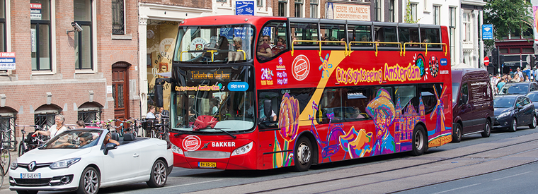 Top Amsterdam Hop-on Hop-off Tours