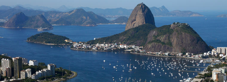 Brazil Cruises, Sailing & Water Tours