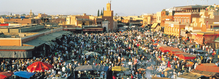 Central Morocco Half-day Tours