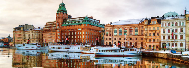 Top Central Sweden City Tours