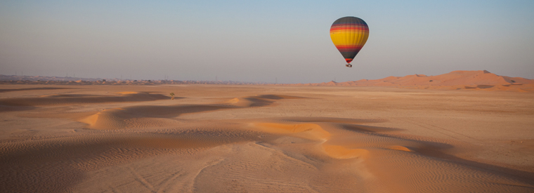 Top Dubai Air, Helicopter & Balloon Tours