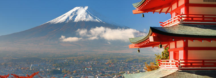 Top Japan Holiday & Seasonal Tours
