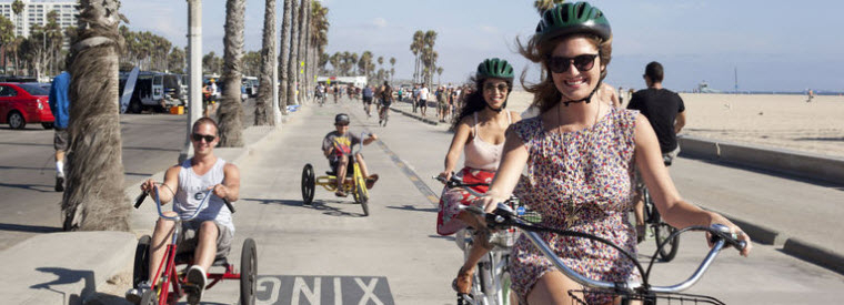 Los Angeles Walking & Biking Tours