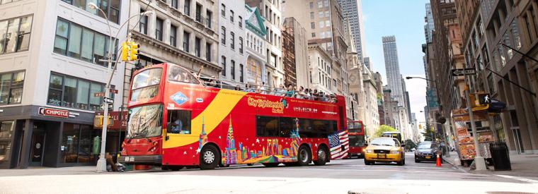 Top New York City Hop-on Hop-off Tours