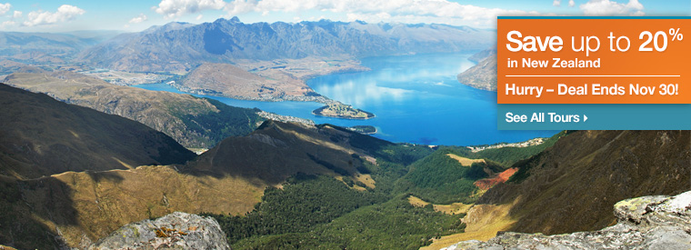 New Zealand Multi-day Tours