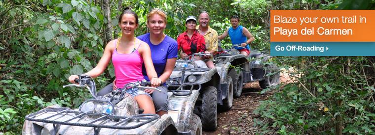 Top Playa del Carmen 4WD, ATV & Off-Road Tours