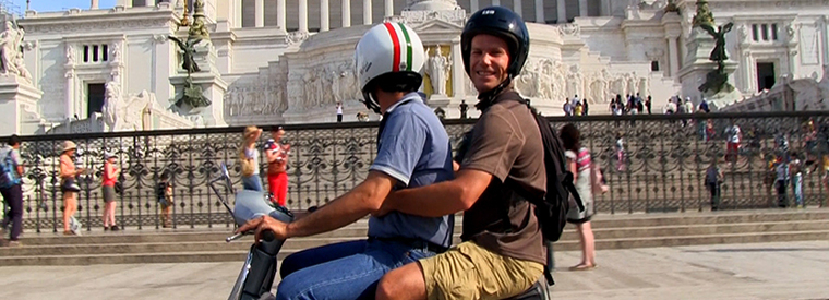 Top Rome Vespa, Scooter & Moped Tours
