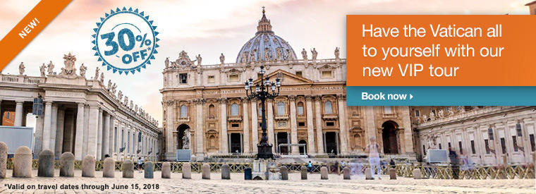 Top Rome Viator VIP & Exclusive Tours