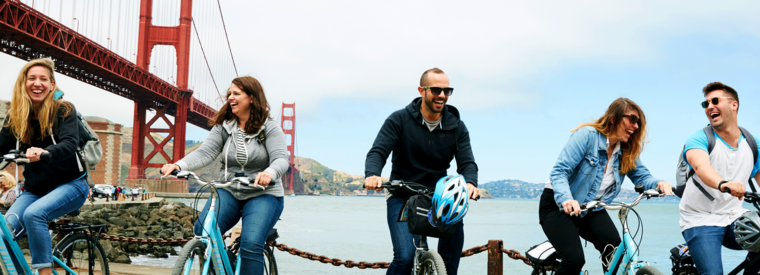 Top San Francisco Walking & Biking Tours