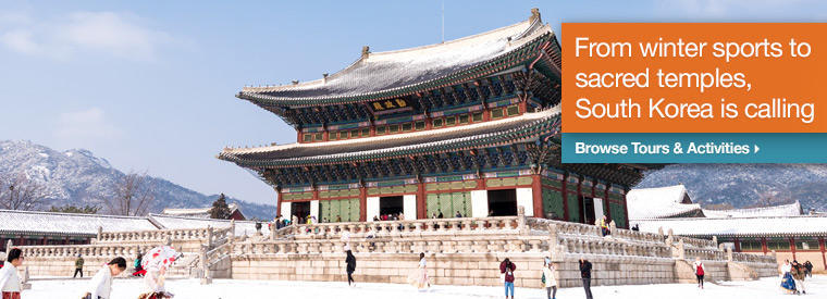 Top South Korea Bus & Minivan Tours