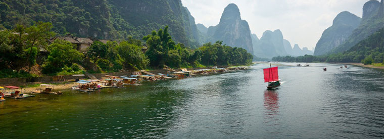 Top Southern China White Water Rafting