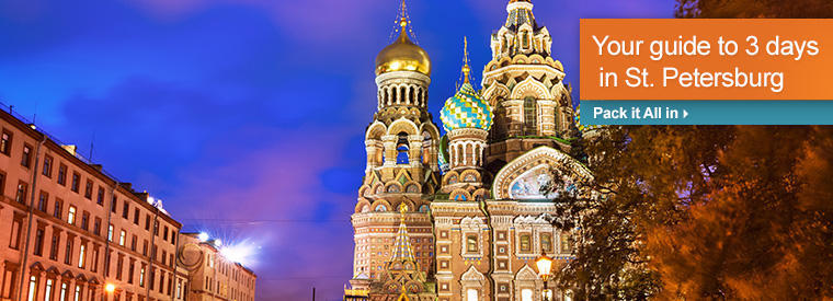 St Petersburg Day Cruises