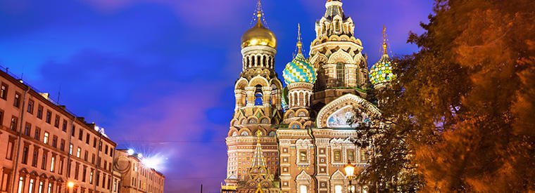 St Petersburg Holiday & Seasonal Tours
