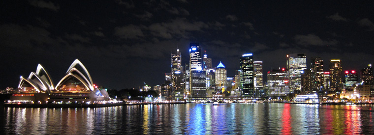 Image result for sydney at night