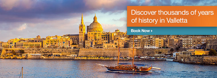 Top Valletta Dinner Packages