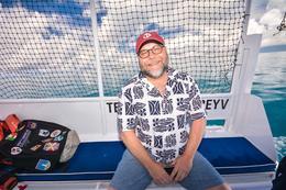 Welcome onto tender enroute to the catamaran. , CDN_Seaman - March 2017