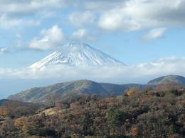 Mt Fuji from the cable car , David H - December 2017
