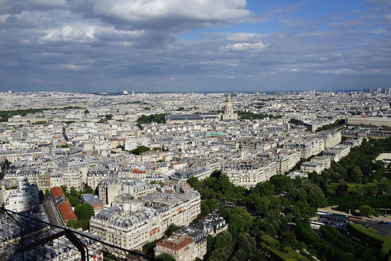 Another view from the Eiffel. - Paris