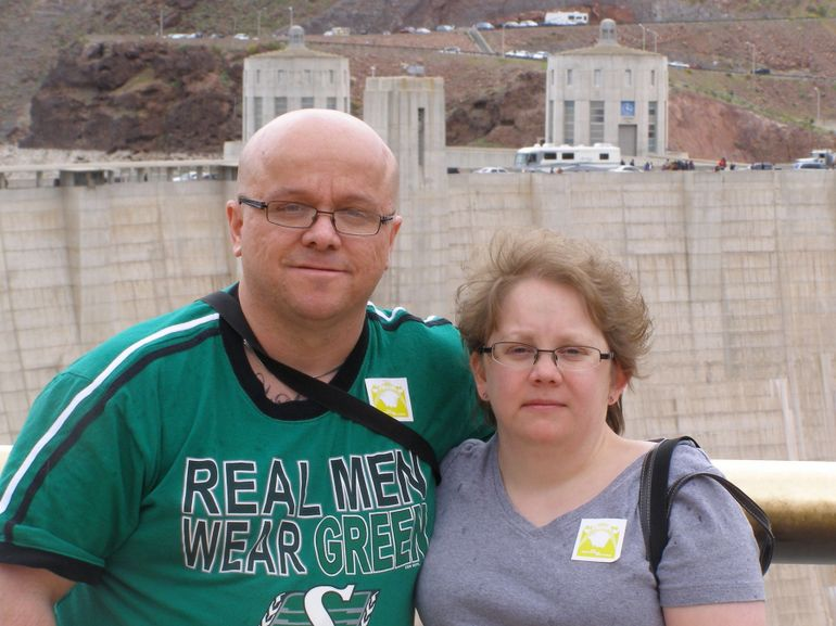At the hoover dam - Las Vegas