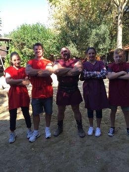 Miller Family gladiator training : , Angelina L - November 2015