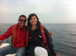 Barcelona Sailing Trip, Blanca - July 2012