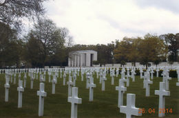 The Cambridge American World War II Cemetery and Memorial as part of the Hop-On/Hop-Off coach tour. , David M - May 2014