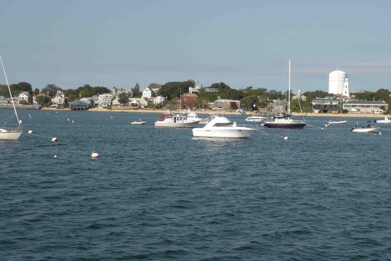 Cape cod harbor at Provincetown - Boston