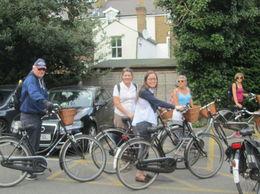 Hampton court bike tour , jasmine s - August 2016