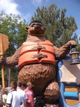 Giant Bear!, LUCY K - June 2011