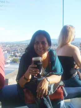 pint of the black stuff :) , Serena - September 2012