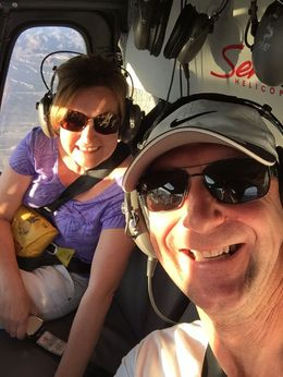 Lee Palmers 53rd birthday surprise....on our way for breakfast on the edge of the Grand Canyon what an amazing start to the day! , Melanie W - October 2015