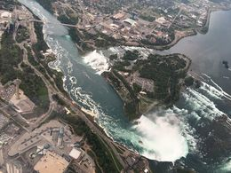 Flying Up Above The Falls. , Book373 - August 2016