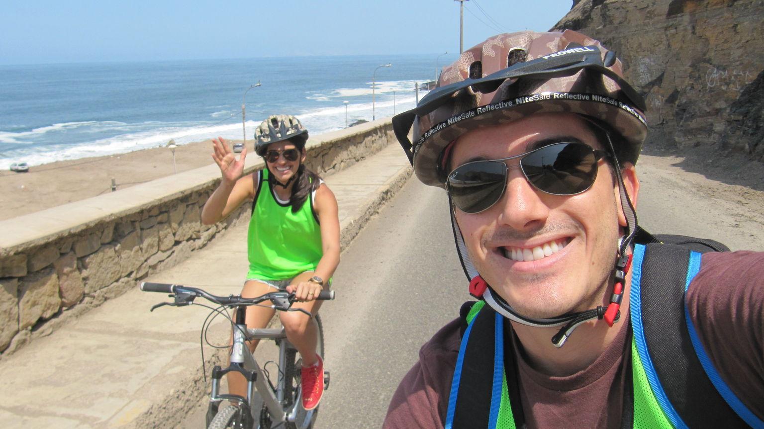MAIS FOTOS, Excursão litorânea de bicicleta para grupos pequenos saindo de Lima