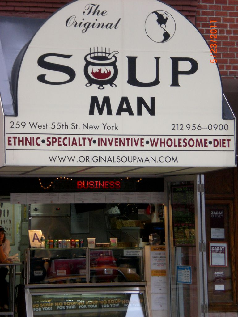 No Soup for you! - New York City