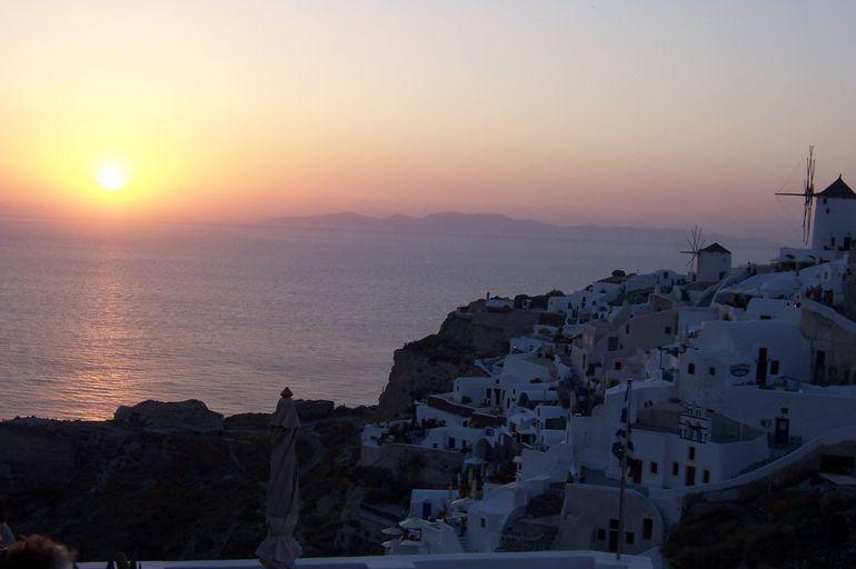 Oia sunset -