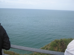 view from Pointe-Du-Hoc, Ricardo G - September 2010
