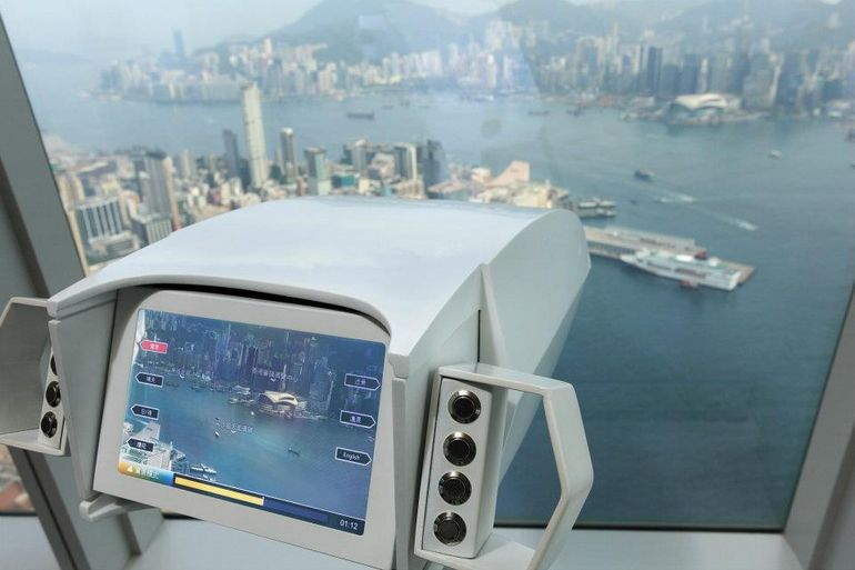 sky100 observation tower - Hong Kong