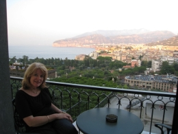 View from hotel balcony at Sorrento, Andrew K - November 2010