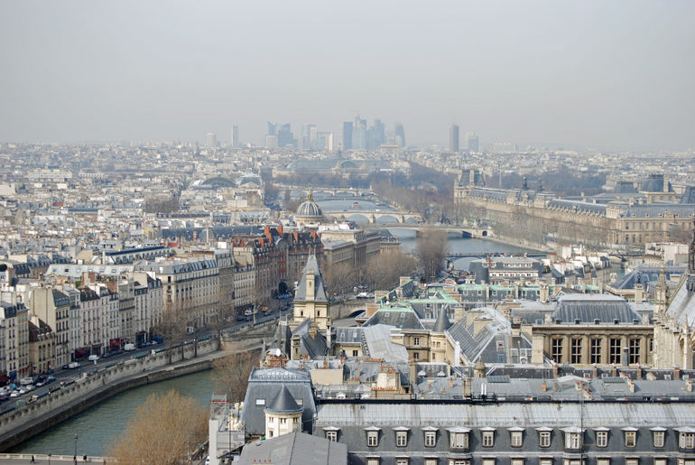 The Seine - Paris - March 2010 -