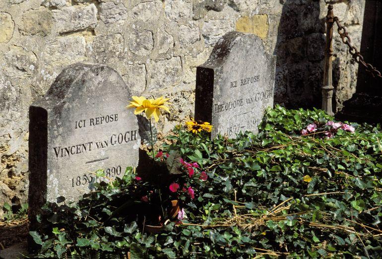 Van Gogh's grave - Paris