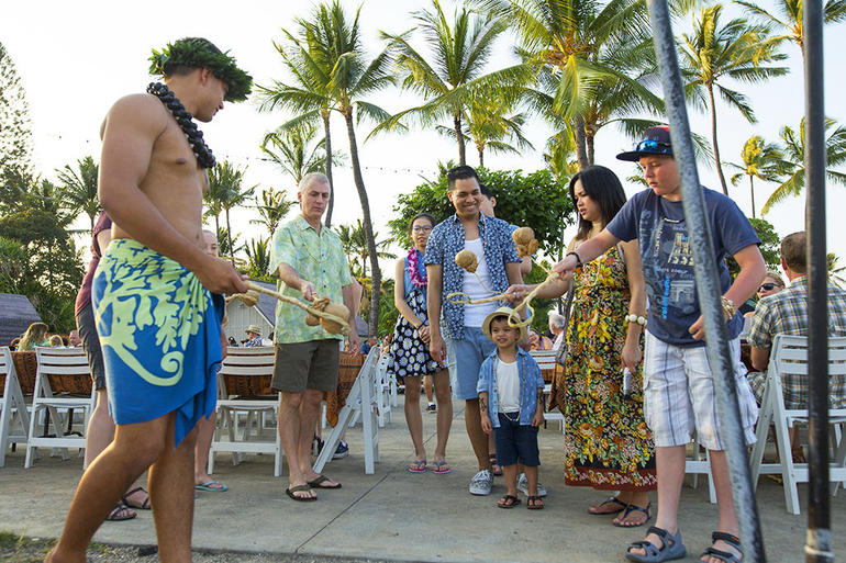 Haleo Luau on the Big Island Ticket