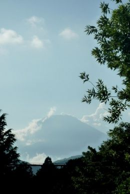 View of Mount Fuji from Hakone, Hwee Khim C - August 2009