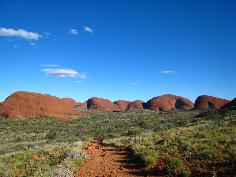 View of the Olgas - Ayers Rock