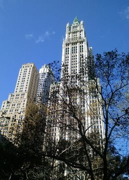 It was a beautiful, sunny day for enjoying the amazing NYC architecture. , Ann B - November 2015